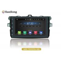 Quality Navigation System Android Car DVD Player For Toyota Corolla 2007 , Android Car Stero wholesale