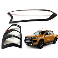 Quality Head Lamp Tail Lamp Bezels and Handle Garnish for 2016 2018 Ford Ranger T7 wholesale