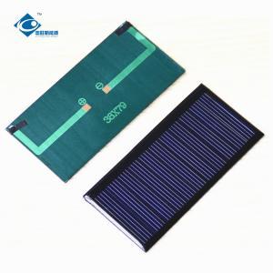 China Custom Shaped Mini Polycrystalline Solar Panel 11 Battery ZW-7938 5.5V 0.34W on sale