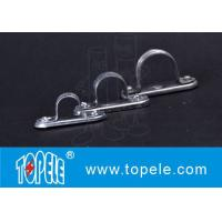Quality Metal BS4568 Conduit Fittings Carbon Steel Spacer Bar Saddle With Base wholesale