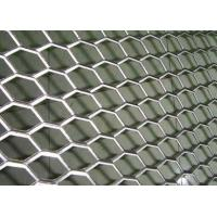 Quality Rhombus Hole Expanded Metal Mesh Hot Dipped Galvanized Surface Thickness 4mm wholesale