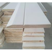Cheap 16' White primed skirting, pine base, base moulding, beams ground sill, decorative base for sale