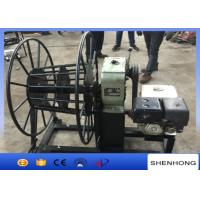 Quality 5 Ton Gasoline Engine Wire Rope Take Up Pulling Winch for Stringing Rope wholesale
