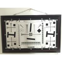 Cheap Camera test chart 2000 lines iso 12233 standard test chart for resolution, MTF, TV line test for sale