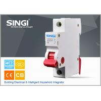 Quality IEC 60898 1P 6A 230/400V 50HZ high breaking capacity to 10000 /CE certificate mini circuit breaker wholesale
