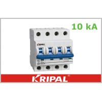 Quality 10 ka MCB Three Pole Mini Circuit Breaker , High Short Circuit Capacity wholesale