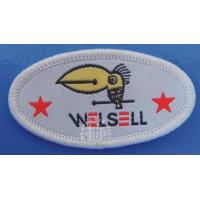 China 2011hot sale garment knitted badges on sale