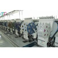 Quality 12 Heads Industrial Double Sequin Embroidery Machine With Servo Motor wholesale