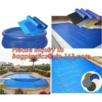 China Economical Outdoor Bubble Solar Pool Cover For Swimming Pool/winter pool cover,Polycarbonate solar Swimming Pool Cover on sale