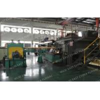 Quality 3-strands  Horizontal Copper Continuous Casting Machine for  95x25 Red Copper Pipes wholesale