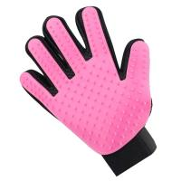 Quality Pets Remover Mitts Silicone Pet Supplies Massage Tool Five Fingers Gloves wholesale
