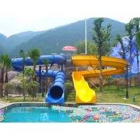 China Waterpark Equipment, Kids' Body Water Slides, Fiberglass Pool Slide for Aqua Park on sale