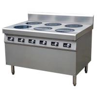 Quality 21 kw induktionspis 6 plattor 6*3.5KW Commercial Induction Cooker Easy Clean Fully Modular wholesale