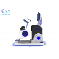 Quality Exciting 720 Degree Flight Simulator Cockpit 360 Vr Chair Rotation VR Simulator for Roller Coaster Simulator wholesale