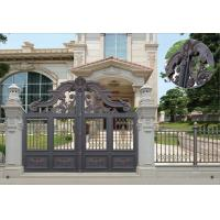 Quality Villa Aluminum Electric Garden Door Opening Type With Remote Control Motor Shaft 4.5m wholesale