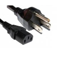 China Power Cord - US 3 Pin Plug to C13 IEC Mains Lead Cable 2m on sale