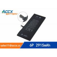 Cheap ACCX brand new high quality li-polymer internal mobile phone battery for IPhone 6Puls with high capacity of 2915mAh 3.8V for sale
