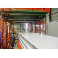 China Automatic Sawing PU Sandwich Panel Continuous Production Line on sale