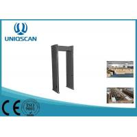 Quality Digital LED Count Arch Metal Detector , Full Body Metal Detectors Security System wholesale