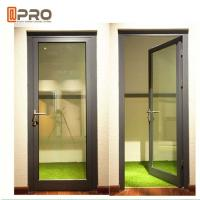 Quality High Strength Durable Aluminium Hinged Doors With PVDF Surface Treatment wholesale