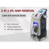 China ipl  shr  diode laser hair removal and rejuvenating and skin cooling on sale