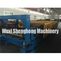 Cheap 10 Ton Corrugated Roll Forming Machine For Roof Panel Making 0.2 - 0.9mm for sale