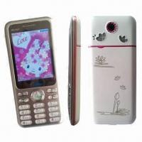 Quality GSM Double-frequency Digital Mobile Phones/Qwerty Dual-SIM Card Phones, Touch Color Screen wholesale