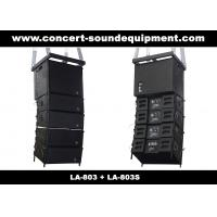 "Cheap 480W Compact Double 8"" Line Array Speaker For Installation , Church , Conference, Nightclub for sale"