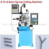 Quality Custom CNC Spring Machine / Spiral Spring Machine For Wire Size 0.8mm wholesale