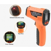 Quality 2020 The Most Popular High precision digital laser infrared thermometer with LCD for industrial and domestic use wholesale