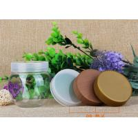 China 225ml Round Storage Bottle PP Lids Small Plastic Jars For Candy / Chocolate / Nuts on sale