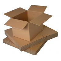 Buy cheap Moistureproof Custom Cardboard Boxes For Shipping , Single Wall Box product