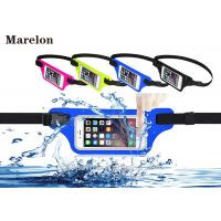 Quality Sport LED Waterproof Running Belt / Elastic Waist Belt Tool Bag With Touchable Window wholesale