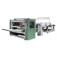 China 100 Meter / Min interfolded Facial Tissue Paper Folding Machine on sale