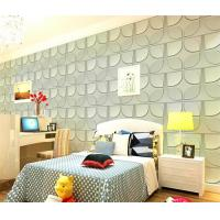Cheap Christmas Decoration 3D Living Room Wallpaper , 3D Effect Wall Panels for for sale