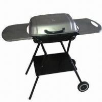 Quality Charcoal Barbecue Grill with 0.7mm Steel Plate Thickness, Measures 47 x 33.5cm wholesale