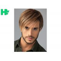 Quality Fashion New Arrival  Mens Hair Pieces Wigs With Side Bang For Young Men Use wholesale