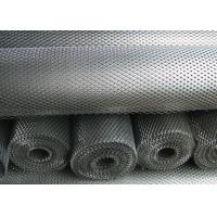 Quality Anti Slipping Expanded Metal Mesh Low Carbon Steel Material 4.5mm - 100mm LWM wholesale