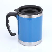 Quality Double Wall LFGB 400CC Stainless Steel Insulated Mug wholesale