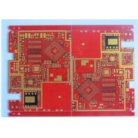 Quality Red Solder Mask Prototype High Density Interconnect HDI PCB High TG Material 20 Layer wholesale