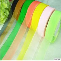 Quality 15mm Good Quality 196 solid color custom size  Black polyester Snow Yarn Ribbon for handicraft wholesale