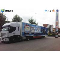 Quality Mobile Truck 7D Movie Theater Cinema Equipment Special Effect Luxury Motion Chairs wholesale