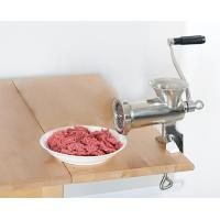 Quality Home Stainless Steel Hand Crank Meat Grinder Heavy Duty Anti Rust #22 With Blades wholesale