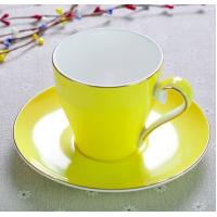 Quality 2018 new items Certifiction 3513 bone china colors hot plates for coffee cups ash 45% hot plates for coffee mug wholesale