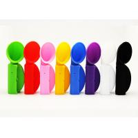 China Custom Silicone Gift Horn Style Silicone Speaker Amplifier Stand For Iphone 6 on sale