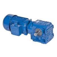 Quality S Series Helical Worm Speed Transmission Gear Box Electric Drive Motor Reducer wholesale