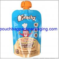 Quality Spout Pouch, Stan up Pouch with Spout for Juice, Water Doypack 100 ml  to 150 ml wholesale
