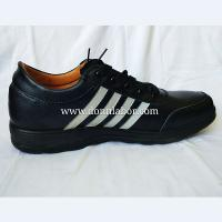 Quality PU Leather Outsole Electrical Protection Feature Mens Working Labor Shoes wholesale