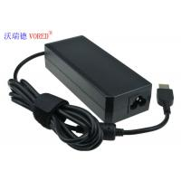 Quality RoHS Lenovo Laptop Power Adapter PC ABS Material OVP / OCP Protection wholesale