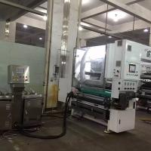 Cheap 300m/Min Dry Lamination Machine / Plastic With Plastic, Plastic With Paper Solventless Laminator for sale